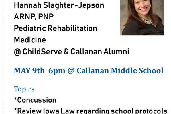 Callanan Middle School PTA Meeting